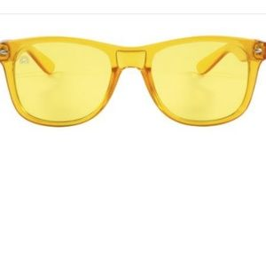 8cd515dcf7bb Rainbow Optx Accessories - Rainbow Optx Yellow Translucent Sunglasses